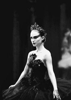 Black Swan. A tormented Natalie Portman.