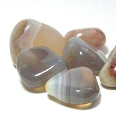 Agate - This is THE stone everyone should have for protection. This is one of the oldest stones in recorded history.