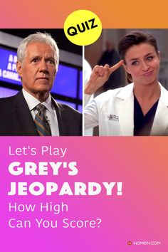 This trivia quiz will test your knowledge on how well you know the characters on Grey's Anatomy, Jeopardy style. #jeopardy #greysjeopardy #ameliashepherd #greys #GreysAnatomy #greysquiz #greysnostalgia #greysAnatomyTrivia #mcdreamy #greystrivia #greysanatomyscene
