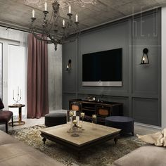 #livingroom #french #classic #interior #design By He.D Creative Group