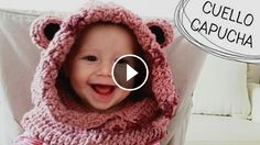 Crochet Lovely Scarf With Ears - Video Tutorial