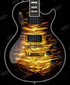 Prs Guitar, Guitar Shop, Guitar Art, Music Guitar, Cool Guitar, Ukulele, Custom Electric Guitars, Custom Guitars, Unique Guitars