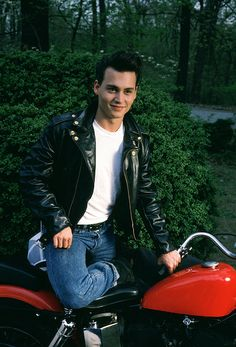 Young Johnny Depp.