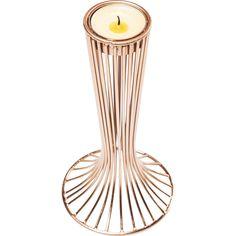 Teelichthalter Wire Tulip Rosegold - - KARE Design