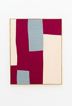 heathwest: Ethan CookUntitled, 2013Hand woven cotton canvas in artist's frame76 x 61 cm