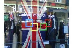 Gents store = Londnon 2102 Oimplyes.  Very clever