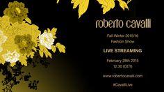 Roberto Cavalli Fall Winter 2015/16 Milan Fashion Week LIVE Streaming - http://www.bestfashionweek.com/fashionweek/roberto-cavalli-fall-winter-milan-fashion-week-live-streaming.html -