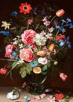 Clara Peeters  Flower Still Life  17th century