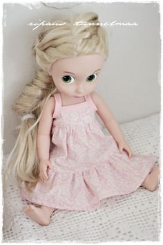 2-Tiered Sundress for Animator Doll.