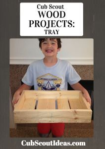 Here's a quick and easy project that your Webelos and Arrow of Light Cub Scouts can make for the Build It adventure.