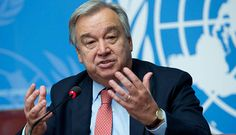 UN's Guterres arrives at Crans-Montana hoping to change negative climate