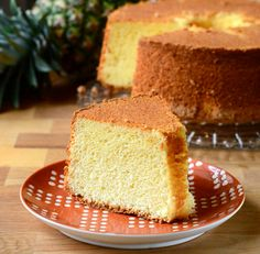 I love foam cakes because their light, airy texture makes them both fun to make and fun to eat....