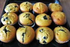 Best Blueberry Muffins Ever, SO easy to make!