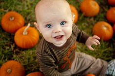 Pumpkin Patch, Photo by Park Bench Photography ) Fall Baby Pictures, Fall Family Photos, Fall Photos, Fall Pics, Boy Photos, Halloween Photography, Autumn Photography, Photography Ideas, Halloween Fotografie