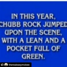 #Repost @therealeasymobee  You know you've made the right song when 25 years later the classic American television gameshow #Jeopardy quizzes it's contestants with your lyrics. Will the lyrics of today stand the test of time and do the same thing decades later? Hmmmmmmmm  Congratulations to #ChubbRock @chubblive for composing a #HipHop classic that is obviously now embedded in American culture. Go Chubb.  THE ANSWER TO THE #JEOPARDY QUESTION IS... Treat 'Em Right - #ChubbRock (Select Records…