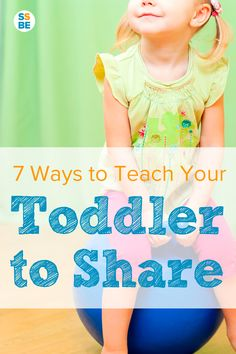 Not sharing with other kids and family members is common with toddlers, but you can still encourage and teach your toddler to share with 7 practical tips.
