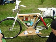 Awesome bike accessory! Of course you can substitute the liquid with yours of choice and conscience ;)