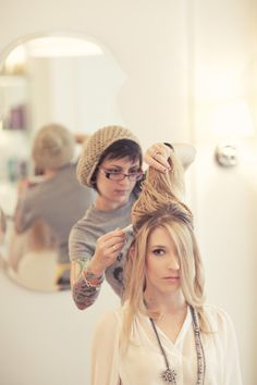 Drybar SF photographed by Lydia Hudgens
