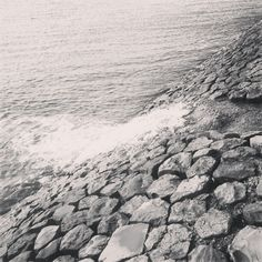 Hoge water stroomt weer terug naar #zee