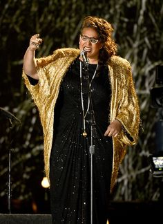 Brittany Howard / Alabama Shakes...girl sang her heart out on this stage!!