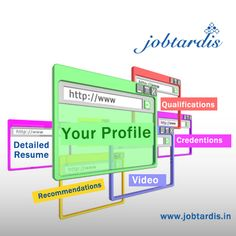 Create your Job profile along with eye catching Resume with http://www.jobtardis.in