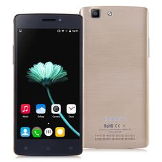(112.63€) CUBOT X12 5.0inch 64 bit 4G FDD-LTE Android 5.1 Smartphone MTK6735 Quad Core 1GB RAM 8GB ROM 8.0MP IPS QHD - Dorado