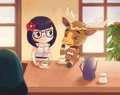 Coffee time - Animal Crossing