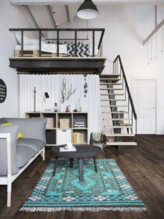 44 amazing loft stair for tiny house ideas