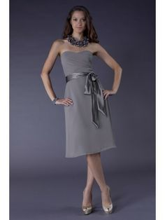 A-line Chiffon Sweetheart Wrap Bodice Short Special Occasion Dress