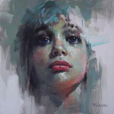 Painting Twarz 6 - Artist Karol Turski