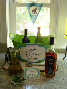 Crossing the Bugger-Dixon Line: And They Are Off!   Kentucky Derby Party