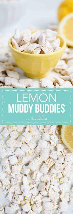 Lemon Muddy Buddies - I Heart Naptime