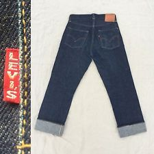 Vtg Usa LEE RIDERS UNION MADE DENIM JEANS RARE SELVEDGE REDLINE
