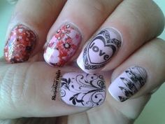 DIY tattoo nails