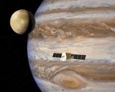 NASA near Jupiter
