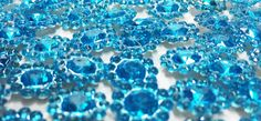 Turquoise Faceted Acrylic Jewels  Faceted by supplysideeconomics