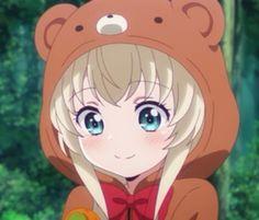Misha Takanashi from Uchi No Maid Ga Uzasugiru! Manga Anime, Manga Kawaii, Anime Gifs, Chibi Anime, Kawaii Anime Girl, Anime Art Girl, Manga Girl, Icons Girls, Blonde Anime Girl