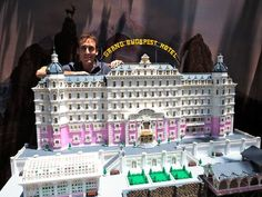 lego grand budapest hotel - Google Search