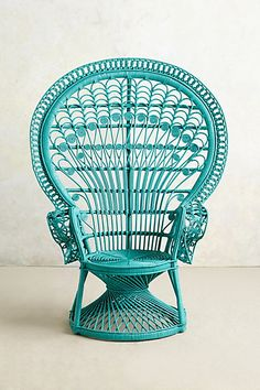 Loving this version of the Peacock Chair The new Reina Chair for anthropologie.com @Stylebeat Marisa Marcantonio wants one!