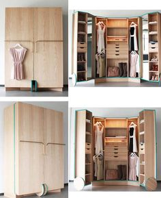 The Best 2019 Interior Design Trends - Interior Design Ideas Folding Furniture, Smart Furniture, Space Saving Furniture, Home Furniture, Furniture Design, Tiny Spaces, Small Apartments, Casas Containers, Home And Deco