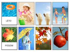 Pro Štípu: Pracovní listy FOTO Month Weather, Weather Seasons, Seasons Activities, Stipa, Writing Area, Montessori Materials, Busy Book, Learning Environments, Pre School