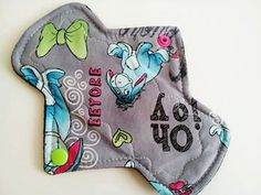 7.5 Cotton Heavy Reusable Cloth Menstrual Pad  by CreationsByFive, $5.50