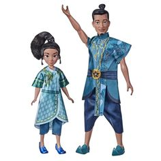 Disney Raya and the Last Dragon Young Raya and Chief Benja Dolls with Clothes - Walmart.com - Walmart.com Cute Disney, Disney Style, New Movies, Disney Movies, Disney Barbie Dolls, Dragon Movies, New Disney Princesses, Disney Collector, Mickey Mouse And Friends