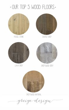 Our Five Favorite Wood Floors right now – Greige Design