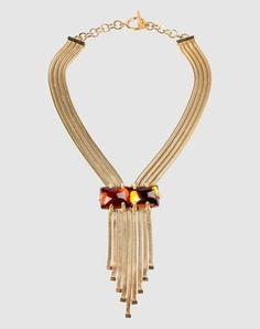 beautiful art deco style necklace #jewelry