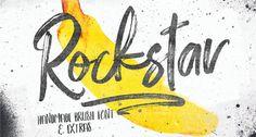 28 incríveis fontes gratuitas para download • Designerd Hipster Fonts, Funky Fonts, Cool Fonts, Lettering Design, Hand Lettering, Graffiti Font, Brush Font, Handwriting Fonts, Free Fonts Download