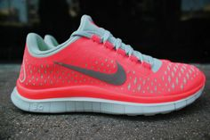 competitive price 3e5a0 40174 WMNS Nike Free 3.0 V4 Hot Punch 511495 600 Free Running Shoes, Nike Free  Shoes