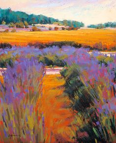 """Lavender Wheat"" by Susan Ogilvie"