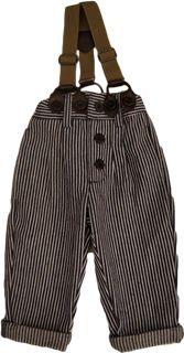 Gus Pants by Noro - Love those suspenders!