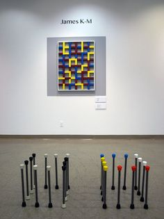 James K-M: Paintings and Sculpture